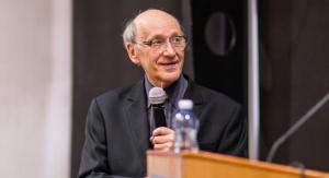 Ks. prof. Michał Heller. Fot. Uniwersytet Śląski