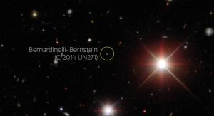 Obraz wygenerowany na podstawie danych z projektu Dark Energy Survey