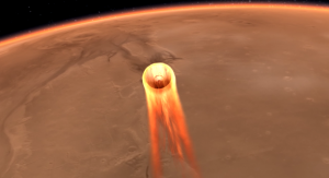 Artystyczna wizja marsjańskiego lądownika InSight. Image Credit: NASA/JPL-Caltech