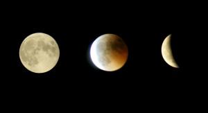 Zaćmienie Księżyca. Fot. pixabay