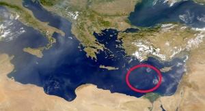 Prawdopodobne miejsce położenia starożytnej płyty dna morskiego z czasów formowania się Pangei. Fot. NASA/Goddard Space Flight Center