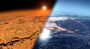 Mars i Ziemia | Image credit: NASA's Goddard Space Flight Cente