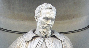 Pomnik Michelangela Buonarrotiego / fot. Wikipedia