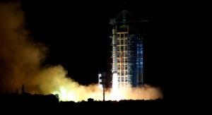 Wystrzelenie pierwszego na świecie satelitę kwantowego Quantum Experiments At Space Scale (QUESS). Fot. Xinhua/Jin Liwang