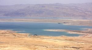 Widok na Morze Martwe z Masady. Fot. Agnieszka Sikora
