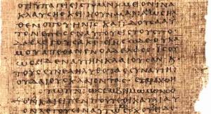 Rękopis z Nag Hammadi. Fot. wikipedia.org