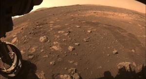 Widok Marsa sfotografowany przez Perseverance