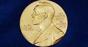 Medal noblowski. Źródło: https://www.nobelprize.org