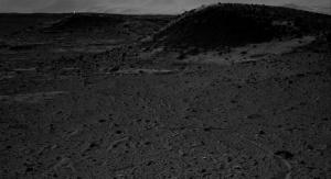 Wyschnięte jezioro w kraterze Gale. IMAGE CREDIT: NASA/JPL-CALTECH
