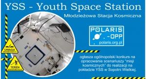 "Konkurs ""Scenariusze misji na YSS"", plakat"