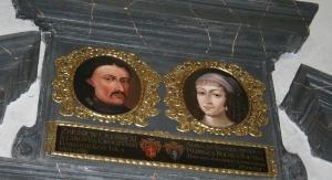 Portrety Zbigniewa Oleśnickiego i Anny Stanisławskiej / Fot. Krzysztof Nurkowski