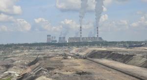 Hałdy przy kopalni węgla brunatnego. Fot. Pixabay