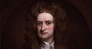 Izaak Newton pędzla Gottfrieda Knellera. Fot. domena publiczna