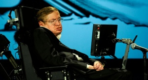 Stephen Hawking. Fot. NASA (via Flickr as NASA HQ PHOTO)