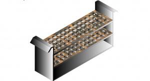 Grafika ilustrująca wynalazek. Autor: Robert Musioł, Instytutu Chemii, Uniwersytet Śląski