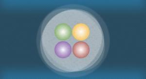 Artystyczna wizja tetrakwarku. Źródło: Fermilab
