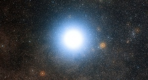 Alpha Centauri. Fot. ESO/DSS 2, http://www.eso.org/public/images/eso1241e/