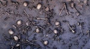 Pozostałości bitwy odkopane w 2013 roku. Fot .: Landesamt für Kultur und Denkmalpflege Mecklenburg-Vorpommern, Landesarchäologie, C. Hartl-Reiter
