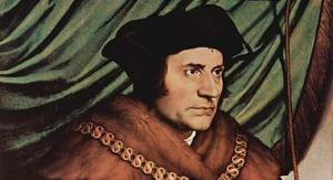 """Portret Tomasza Morusa"" (Hans Holbein Młodszy, 1527)"