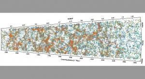 Największa trójwymiarowa mapa Wszechświata sprzed 7 mld lat. Fot. VIPERS