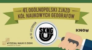 41. Ogólnopolski Zjazd Kół Naukowych Geografów
