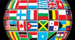 globe-world flags