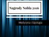Nagrody Nobla 2016 – medycyna i fizjologia