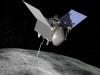 Artystyczna wizja sondy biorącej udział w misji OSIRIS-REx. Fot. NASA/Goddard/University of Arizona