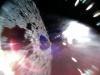 Zdjęcie wykonane przez łazika Rover-1A na asteroidzie Ryugu 22 września 2018 roku. Image credit: JAXA