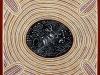 Mapa nieba przedstawiająca Drogę Mleczną, Księżyc i duchy przoków namalowana przez starszego z plemienia Wardaman. Credit: Bill Yidumduma Harney