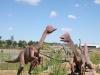 Chirostenot, dinozaur żyjący w późnej kredzie. Replika znajdująca się w JuraParku w Krasiejowie. Fot. Tomasz Płosa