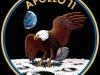 Logo misji Apollo 11. Fot. NASA