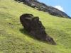 Jeden z wielu jednoznacznie kojarzących się z Wyspą Wielkanocną posągów moai. Fot. pixabay.com