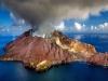 Wulkan na wyspie White Island w Nowej Zelandii. Źródło: domena publiczna: Pixabay.com