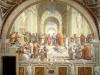 Szkoła Ateńska (1509-10), fresk Rafaela znajdujący się w Pałacu Apostolskim. Fot. domena publiczna