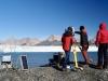 Naukowcy badają zmiany środowiska arktycznego z wykorzystaniem nowoczesnych metod i narzędzi   fot. Joanna Tuszyńska