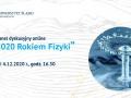"""Konferencja pt. """"2020 Rokiem Fizyki – panel dyskusyjny"""""""
