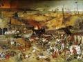 """""""Triumf śmierci"""" (1562) Pietera Bruegla odzwierciedlający powszechny w społeczeństwie wstrząs i przerażenie, wywołane czarną śmiercią. Fot. domena publiczna"""