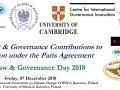"""Sympozjum pt. """"Dzień prawa dla ochrony klimatu i zarządzania klimatem 2018"""""""