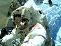 """Komandor Barry """"Butch"""" Wilmore w Międzynarodowej Stacji Kosmicznej (ISS) / Fot. NASA"""