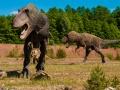 Rekonstrukcja tyranozaura w Parku Nauki i Rozrywki w Krasiejowie. Fot. Pixabay.com