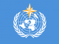 Flaga World Meteorological Organization. Fot. wikipedia.org