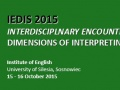 "Konferencja pt. ""Interdisciplinary Encounters – Dimensions of Interpreting Studies"""
