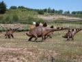 Jedną z najbardziej znanych grup dinozaurów są stegozaury, których rozkwit przypadał prawdopodobnie na środkową i późną jurę. Teleocrater rhadinus żył znacznie wcześniej, ale jest ważnym ogniwem w zrozumieniu, jak archozaury ewoluowały w zwierzęta takie jak stegozaur. Na zdjęciu stegozaury z JuraParku w Krasiejowie.