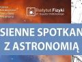 Jesienne spotkania z astronomią