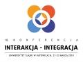 "Logotyp 10. Konferencji ""Interakcja – Integracja"""