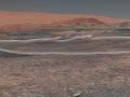 Mozajkowe zdjęcie panoramiczne wykonane przez Curiosity w styczniu 2018 r. Credits: NASA/JPL-Caltech/MSSS