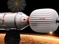 Artystyczna wizja kosmicznego habitatu. Fot. Inspiration Mars