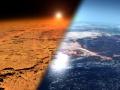 Mars i Ziemia | Image credit: NASA's Goddard Space Flight Cente