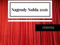 Nagrody Nobla 2016 – chemia